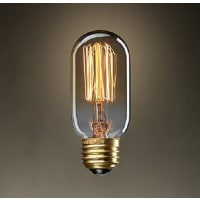 Fosani LightingT45 Carbon Filament Globe Lamp Bulb Vintage 40W E27