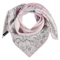 FraasSeidentuch mit Blumen Print in rosa