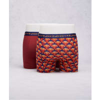 Frank Dandy2-Pack Boxer Bling Thing Dark Red/Red