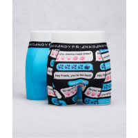 Frank Dandy2-Pack Boxer Sexting Blue/Navy