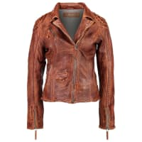 Freaky NationBLIND TRUST Leather jacket cognac