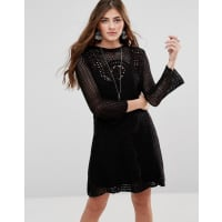 Free PeopleRosalind Smock Dress - Black