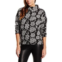 French ConnectionDamen Sweatshirt ACID LILY JACQUARD SS TOP