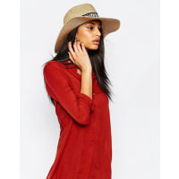 French ConnectionStraw Fedora Hat - Natural
