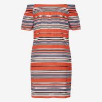 frenchconnectionINDIA STRIPE OFF SHOULDER DRESS - 889 - 06