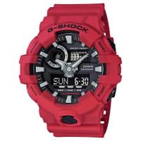 G ShockStandard Analogue Digital Watch Red