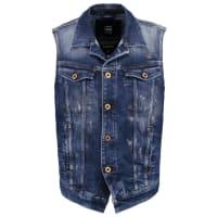 G-Star3301 JKT S/LESS Vest aiden stretch denim