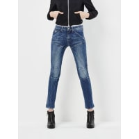 G-Star5620 3D Mid Waist Cropped Flare Jeans