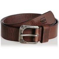 G-StarG-Star Basics zed belt - Cinturón para hombre, Dark Brown, 100