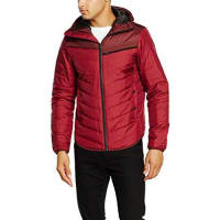 G-StarAttacc Hooded Overshirt Long Sleeve, Chaqueta de Traje para Hombre, Rojo (Dry Red 5298), Small