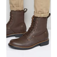 G-StarLabour Lace Up Leather Boots - Brown