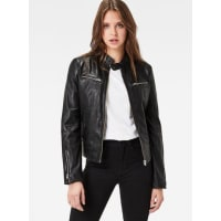 G-StarMower Slim Leather Jacket