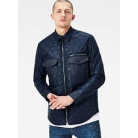 G-StarType C Denim Quilted Slim Overshirt