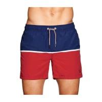 GANTCut and Sewn Swim Shorts Navy/Red
