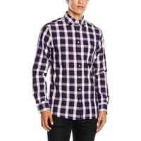 GANTHerren Freizeit Hemd O2. Plaid Pin Dot Reg. Hidden Bd