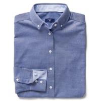 GANTOxford Jersey-Bluse