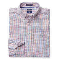 GANTPinpoint Hemd mit Tattersall-Muster