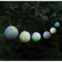 Garden SelectionsPottery Globe Solar Led String Lights
