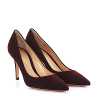 Gianvito RossiPumps Gianvito85 Veloursleder bordeaux