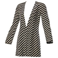 Giorgio ArmaniVintage 90s Striped Silk Jacket