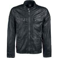 GipsyChester Leder-Jacke schwarz