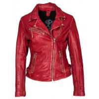 GipsyPerfecto rot Damen Lederjacke von Gipsy