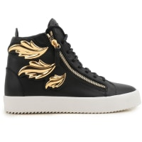 Giuseppe ZanottiSneakers for Men On Sale in Outlet, Black, Leather, 2016, 6.5 7 7.5 9