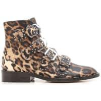 GivenchyStiefel für Damen, Stiefeletten, Bootie, Boots Günstig im Sale, Leopardenfarbig, Leder, 2016, 35 35.5 36 36.5 37 38.5