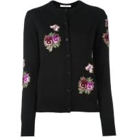 GivenchyCardigã com bordado floral