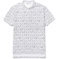 GivenchyPrinted Cotton-piqué Polo Shirt - White