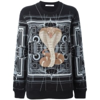 GivenchyPrinted Sweater