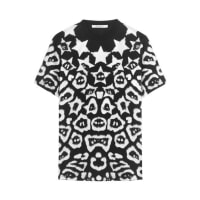 GivenchyT-shirt In Printed Cotton-jersey - Black