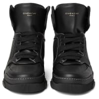 GivenchyTyson Leather High-top Sneakers - Black