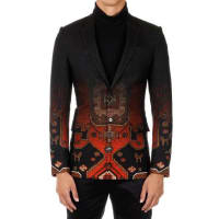 GivenchyWool Blend Printed Blazer Herbst/Winter