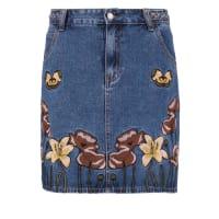 GlamorousDenim skirt mid blue