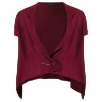 Gloria Coelhoknit waistcoat, Womens, Size: P, Red, Viscose