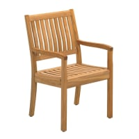 GlosterKingston Teak Dining Chair With Arms