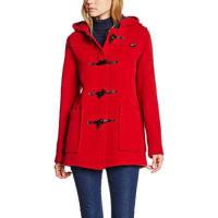 GloverallSlim Short Duffle - Abrigo para Mujer, color Rojo (Red)
