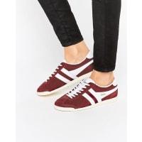 GolaBullet - Klassische Sneaker in Bordeaux & Weiß - Rot