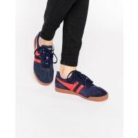 GolaHarrier - Klassische Sneaker in Rot & Marine - Marineblau