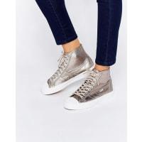 GolaCoaster - Hohe Metallic-Sneaker - Kupfer