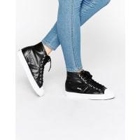GolaCoaster - Hohe Metallic-Sneaker - Schwarz