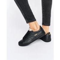 GolaEquipe - Sneaker aus schwarz-weißem Leder - Schwarz