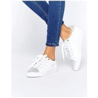 GolaOrchid CLA668 - Sneaker in Weiß & Silber, Metallic - Weiß