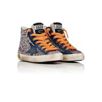 Golden GooseDistressed Glitter Francy Sneakers