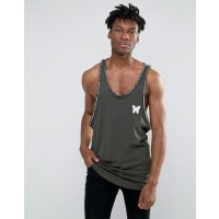 Good For NothingSinglet With Logo Taping - Green