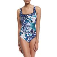 GottexLegacy Paisley-Print One-Piece Swimsuit