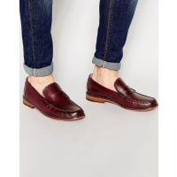 GrensonAshley Penny Loafers - Red