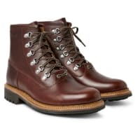 GrensonJustin Panelled Leather Boots - brown