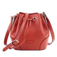 GucciBright Bucket Bag Diamante Leather Small